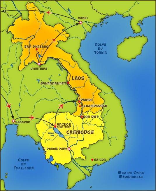 Vietnam-laos-cambodge-thailande2013